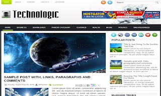 Technologic Blogger Template