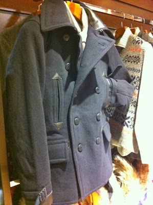 Nigel Cabourn MILITARY P-COAT