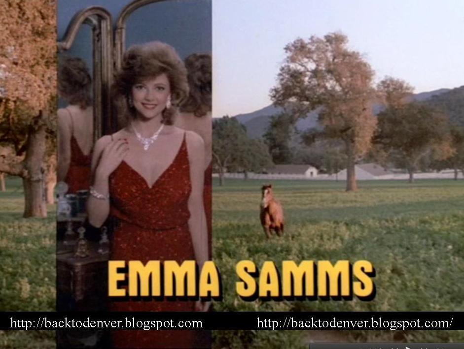 Emma Samms 2013