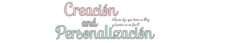 creacionypersonalizacion