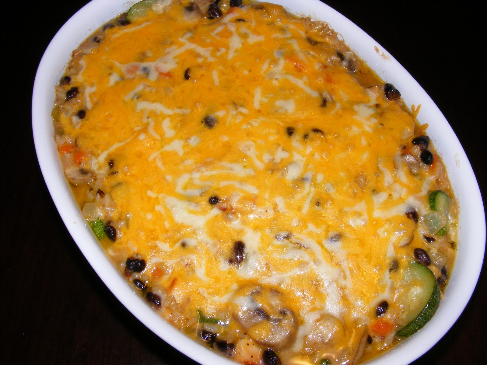 The Recipe Review: Brown Rice and Black Bean Casserole