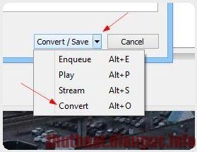 Cách đổi đuôi các định dạng video với VLC Media Player