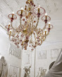 Sylcom Glass Chandelier