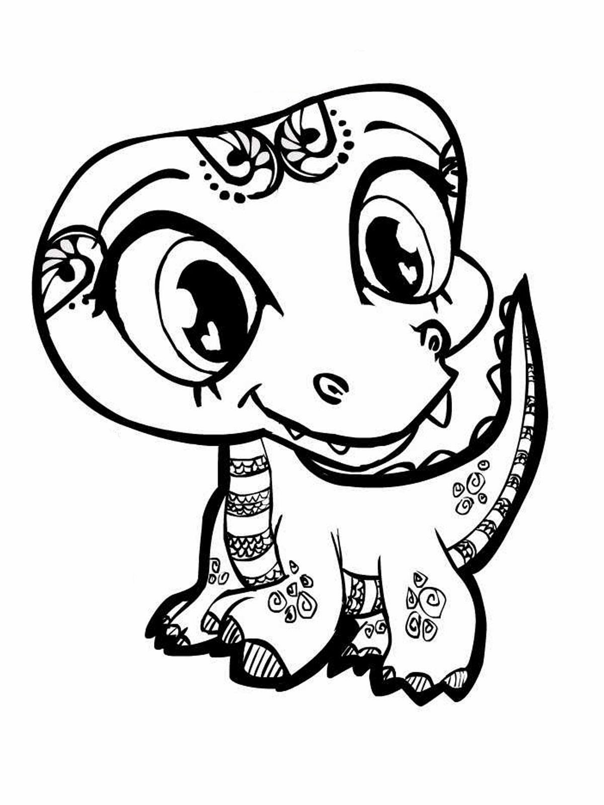 Coloring Pages Squinkie Coloring Pages baby girl coloring pages cute animals page 1 for kids