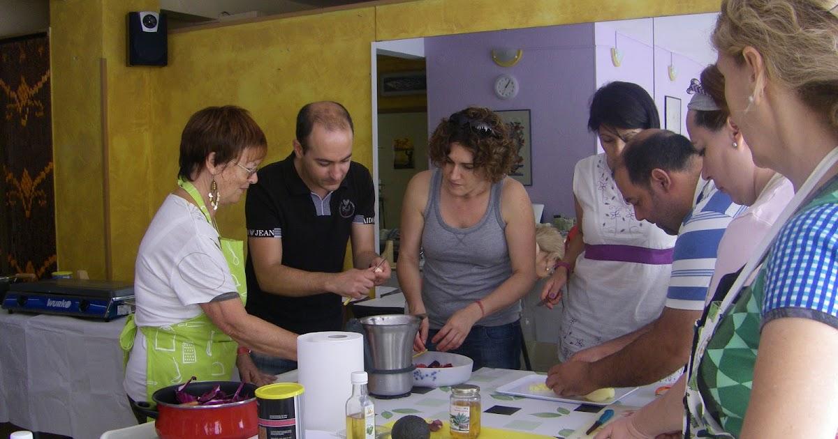 Asociaci n vegetariana vida sana de canarias curso de cocina vegetariana 2 de junio - Curso de cocina vegetariana ...