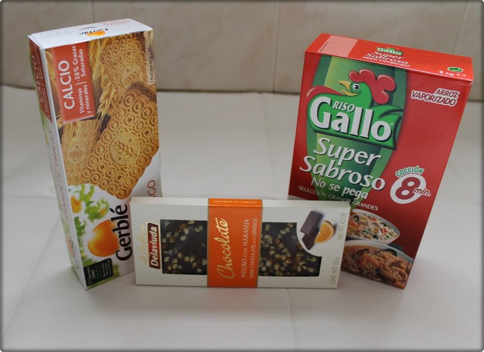 caja mensual de comida
