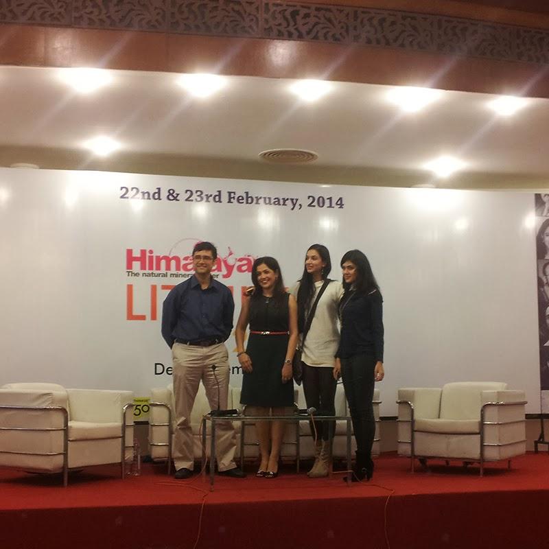 Rohit Gore, Madhuri Banerjee, Ira Trivedi and Nikita-Singh at Lit Hive 2014