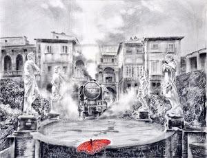 """ANGIOLO VOLPE   """"Misteri dipinti""""  a cura di Francesca Bogliolo"""