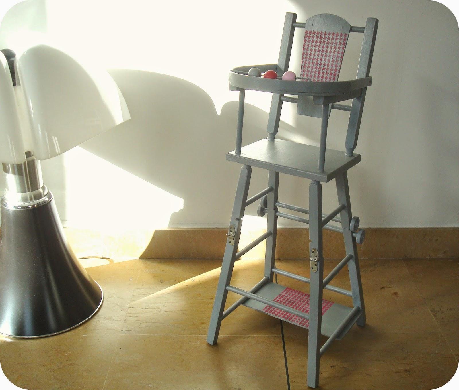 tadaam chaise haute pour poup e. Black Bedroom Furniture Sets. Home Design Ideas