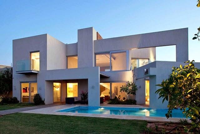 Fachadas de casas modernas fachadas de casas modernas y for Casas bonitas modernas