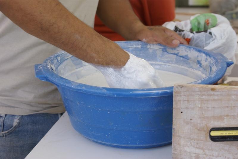 El maestro de obras xavier valderas la mezcla de yeso - Como mezclar cemento ...
