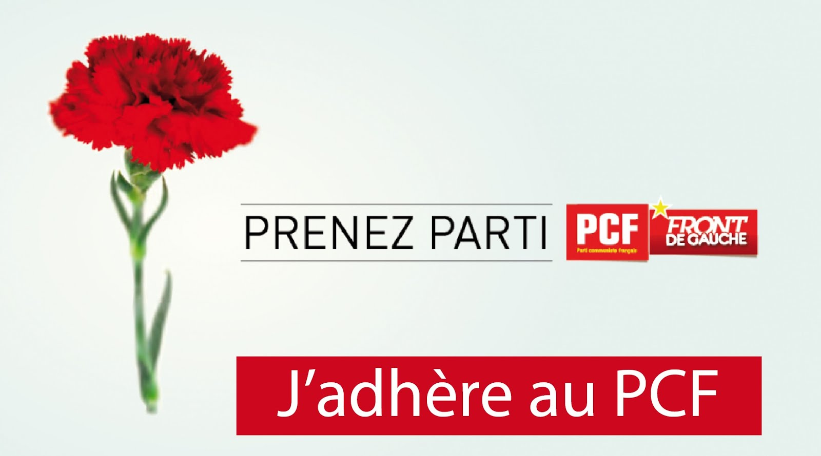 Adhérer au PCF
