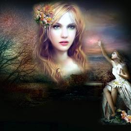 kumpulan gambar wanita fantasi