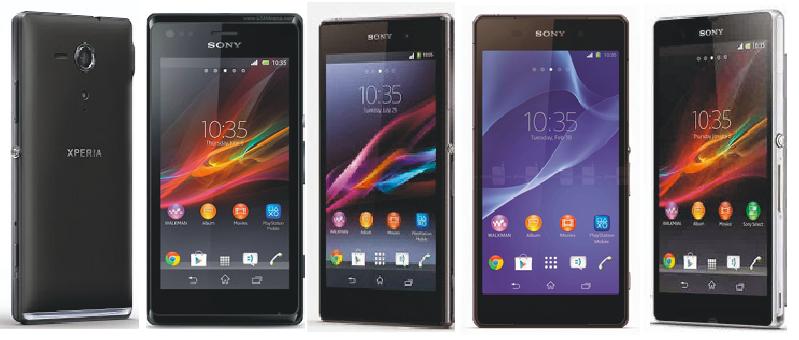 daftar Harga HP Sony Android