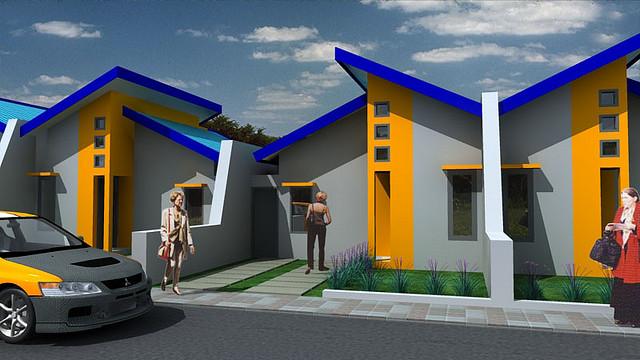 & Desain Rumah Minimalis Type 21