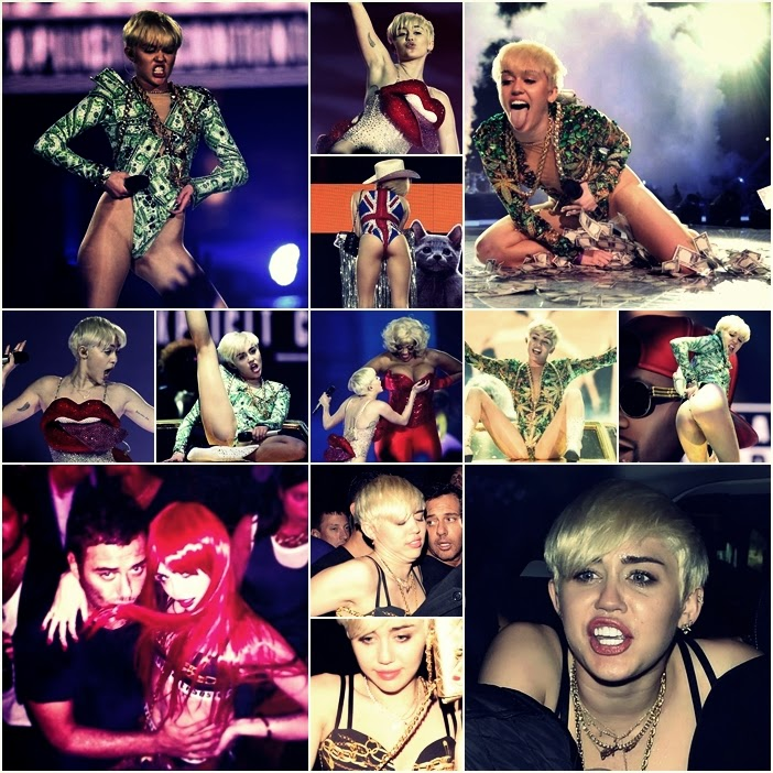 Miley Cyrus w Londynie