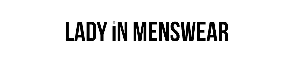 Lady in Menswear