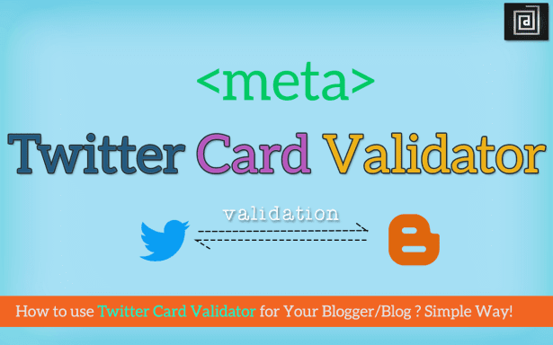 twitter summary card to blogger