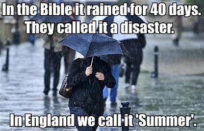 40 Tage Regen. Sommer in England.