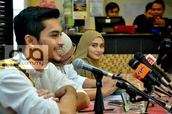 Cerita kahwin Aril Zafrel & Wawa Zainal