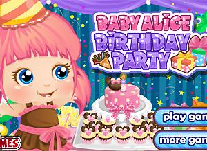 El cumpleaños de Baby Alice