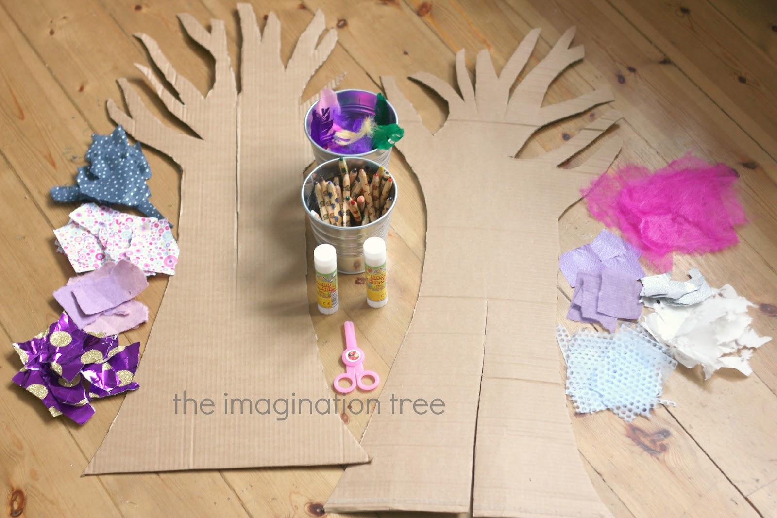 Как сделать бумажное дерево для детей 28