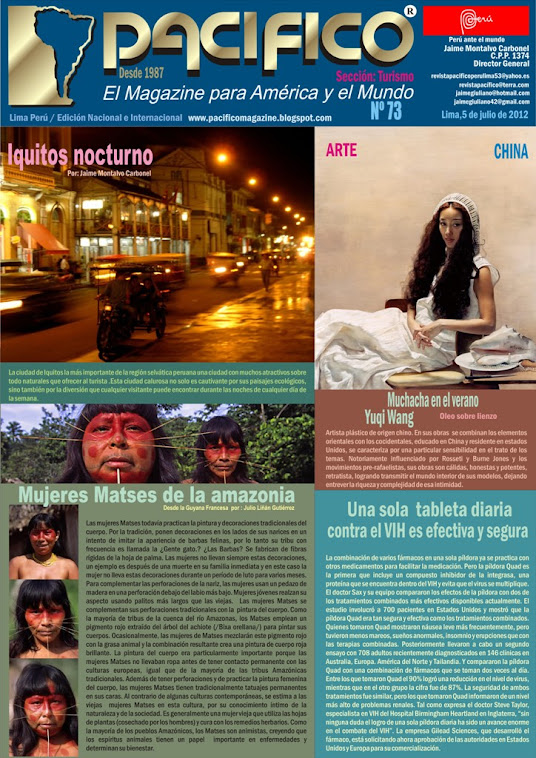 Revista Pacífico Nº 73 Turismo