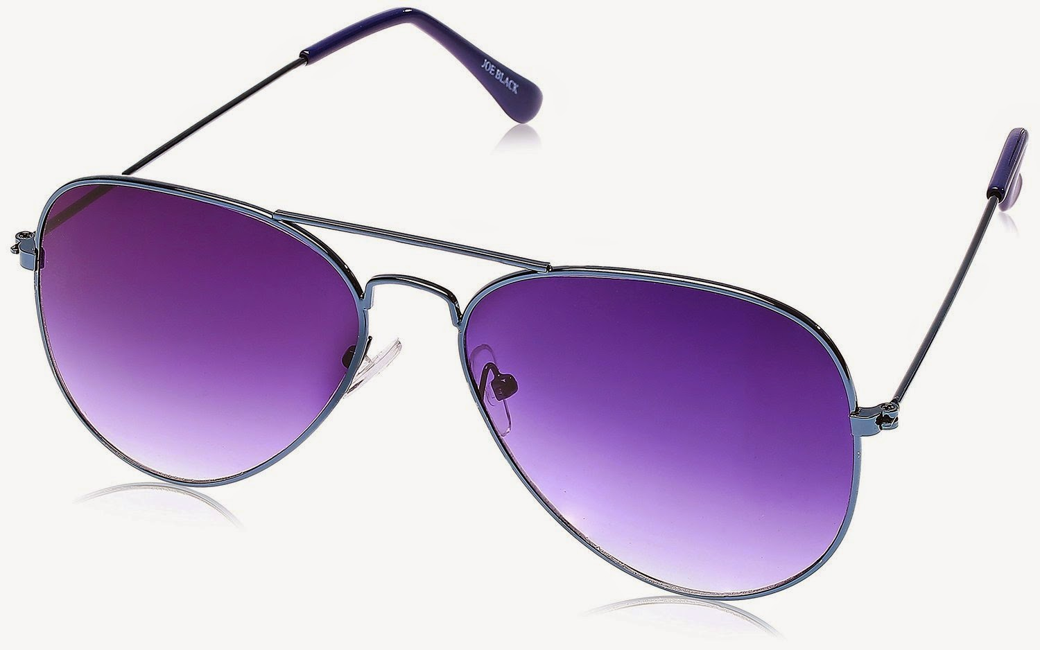 Joe Black Aviator Sunglasses (Blue) (JB-064-C27) for Rs 315 (SBI) or Rs 349