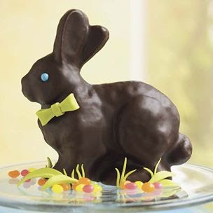 Dying for Chocolate: Chocolate Bunny Cake: Easter