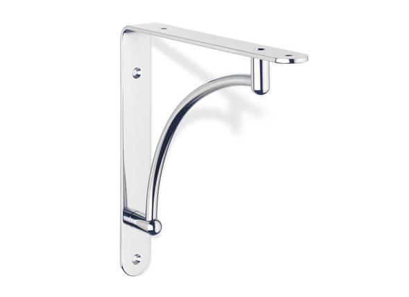 Estantes Cromados Para Baño:soporte+estantes+escuadra+metálica+decorativa+estante+repisa+ECO957