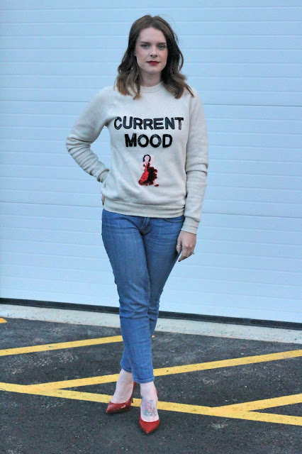current mood emoji sweatshirt