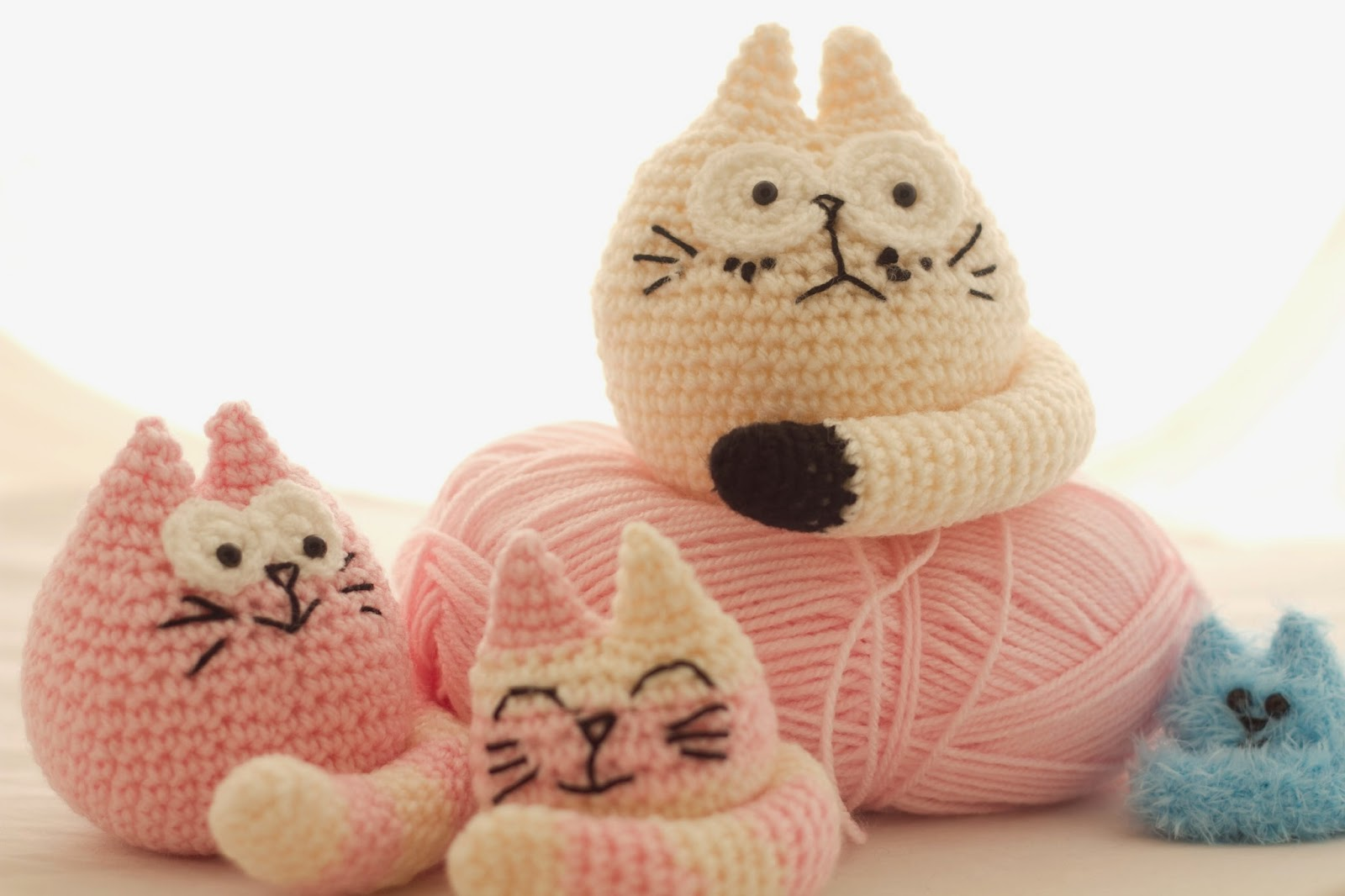 Crocheting Cats : Fugly Crochet: Free Fat Cat Crochet Pattern!!