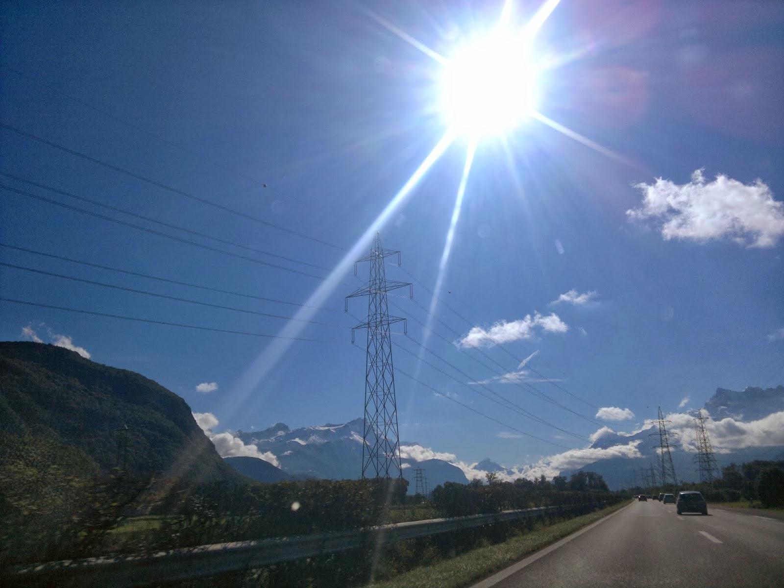 As 4 estações do Ano na Suíça.