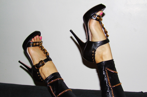 Fabulosas sandalias de fiesta