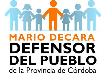 Mario Decara - Defensor del Pueblo de la Provincia de Córdoba