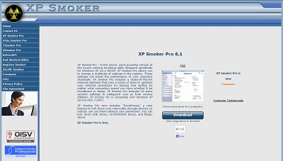 XP Smoker Pro, Cleaning and Tweaking