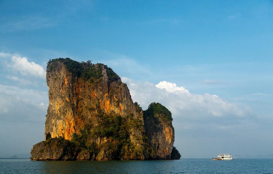 Острова Джеймса Бонда в тайском заливе Пханг Нга