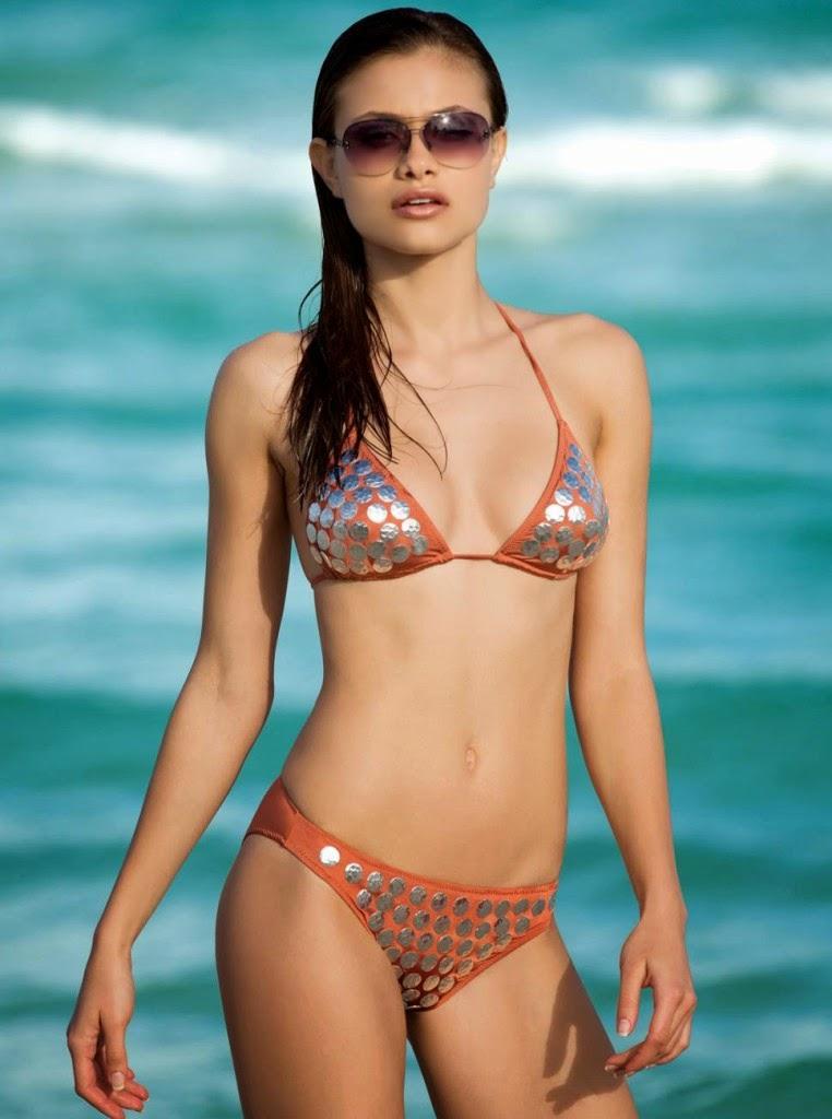 f2bbdbac93 beautiful Ukrainian model Yara Khmidan hot poses in sexy bikini for Yildiz  Swimwear model