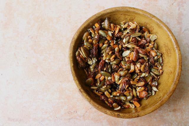 healthy vanilla seed snack