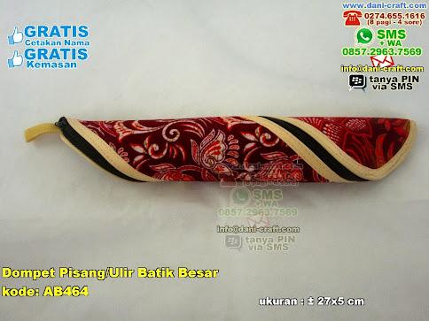 Dompet Pisangulir Batik Besar