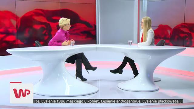Trycholog Warszawa - Weronika Słupek wywiad w WP.TV