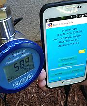 Range 350 psi Monarch Track-It Pressure Pressure and Temperature Logger