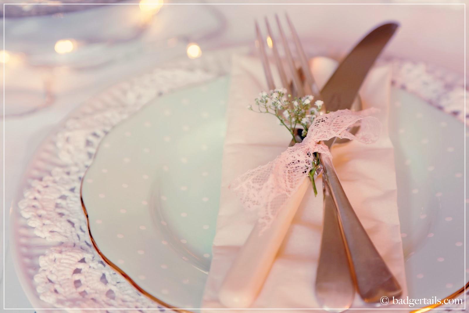 romantic pastel valentines tablescape