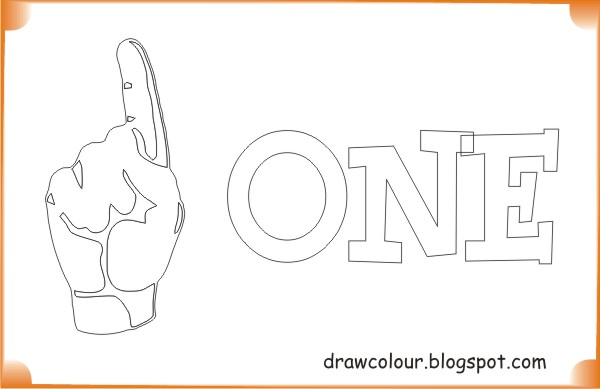 printable-one-finger-coloring-pages