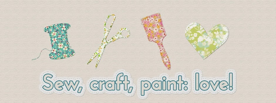 sew, craft, paint: love!