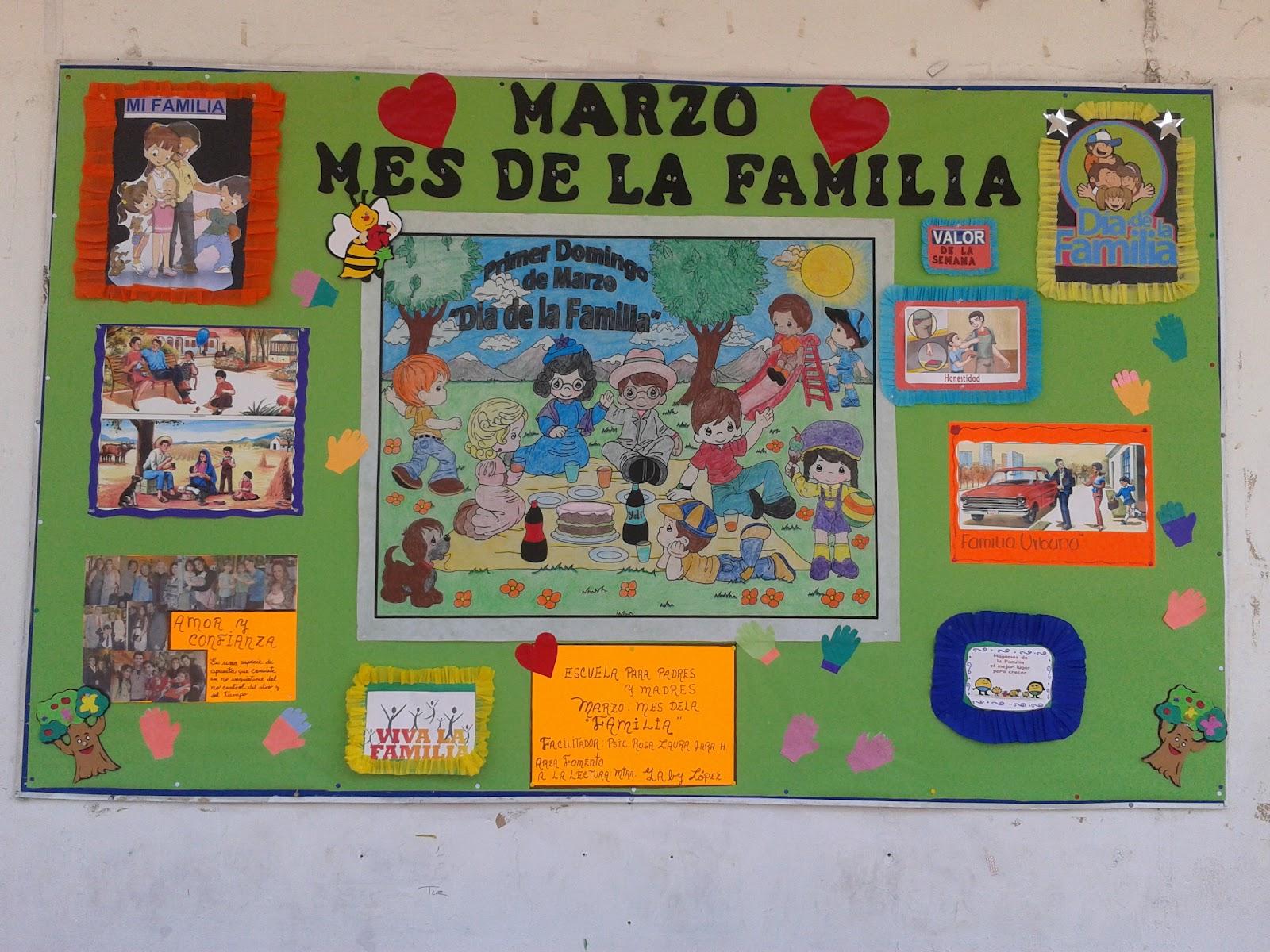 Circulo de lectura impacto 25 marzo mes de la familia d for Mural una familia chicana