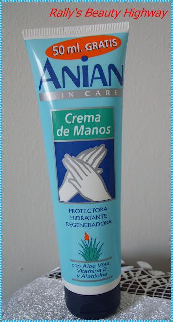 Review Creama pentru maini cu alantoina Anian