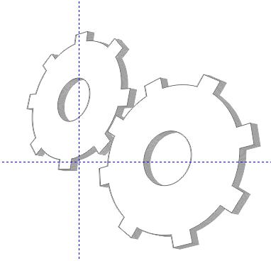 vẽ hiệu ứng hình khối trong CorelDraw