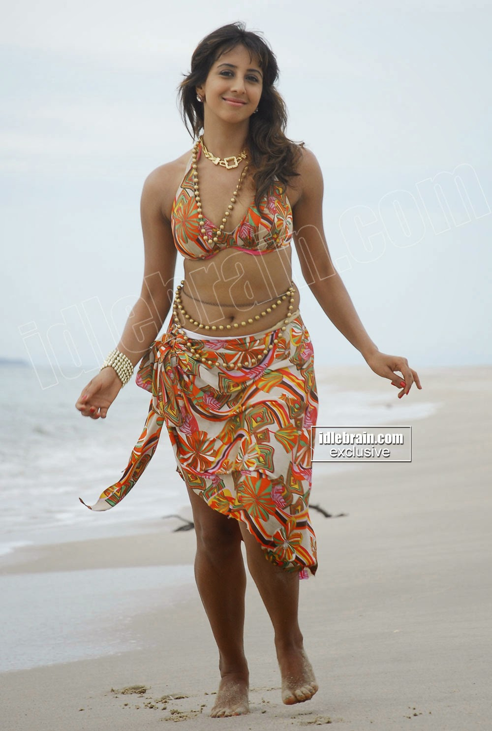 Sanjana Exposing hot