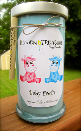 about hidden treasure candles each candle is hand poured with
